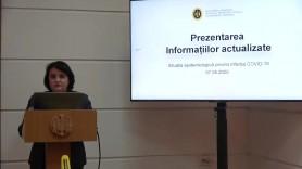 LIVE // Prezentarea informațiilor actualizate a situației epidemiologice privind infecția COVID-19